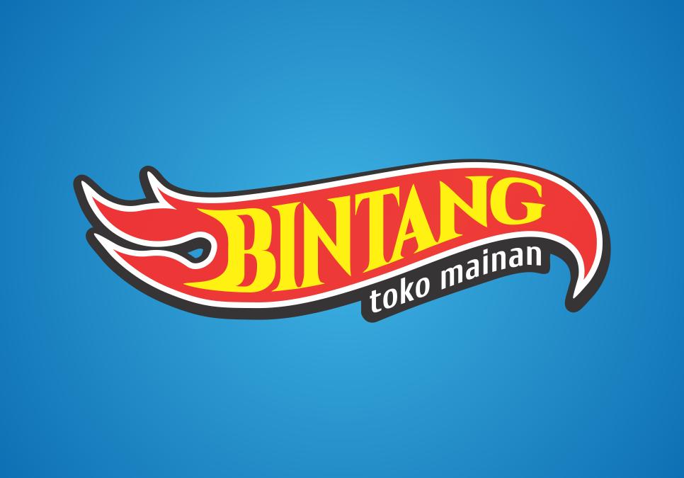 Portofolio Jasa Desain Logo Mainan Anak2 Untuk Toko Mainan Bintang Jaya