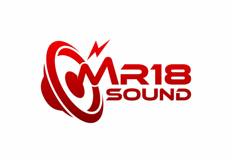 Portofolio Jasa  Desain Logo sewa sound system Untuk MR18 Sound