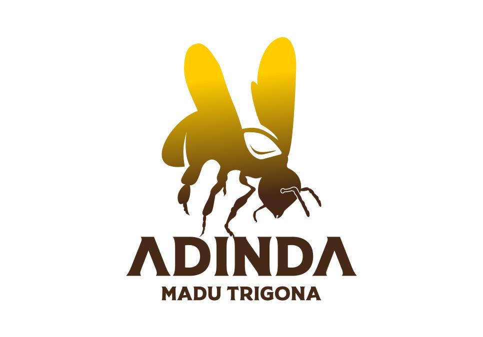 Portofolio Jasa Desain Logo Madu Trigona Untuk Madu Adinda