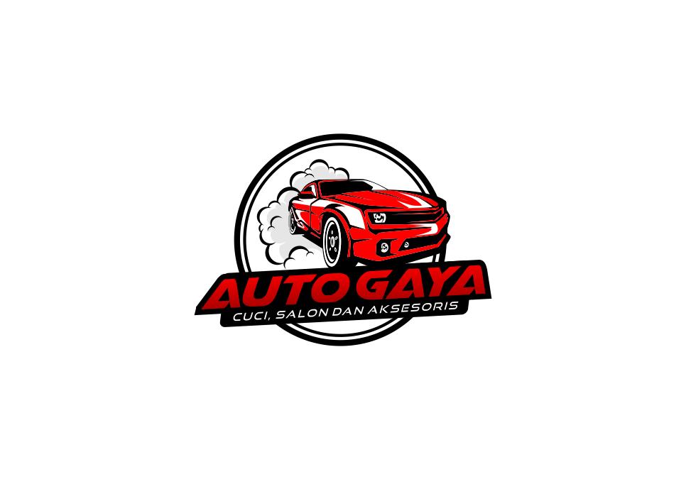 Portofolio Jasa Desain Logo car detailer Cuci salon dan aksesoris mobil Untuk auto gaya