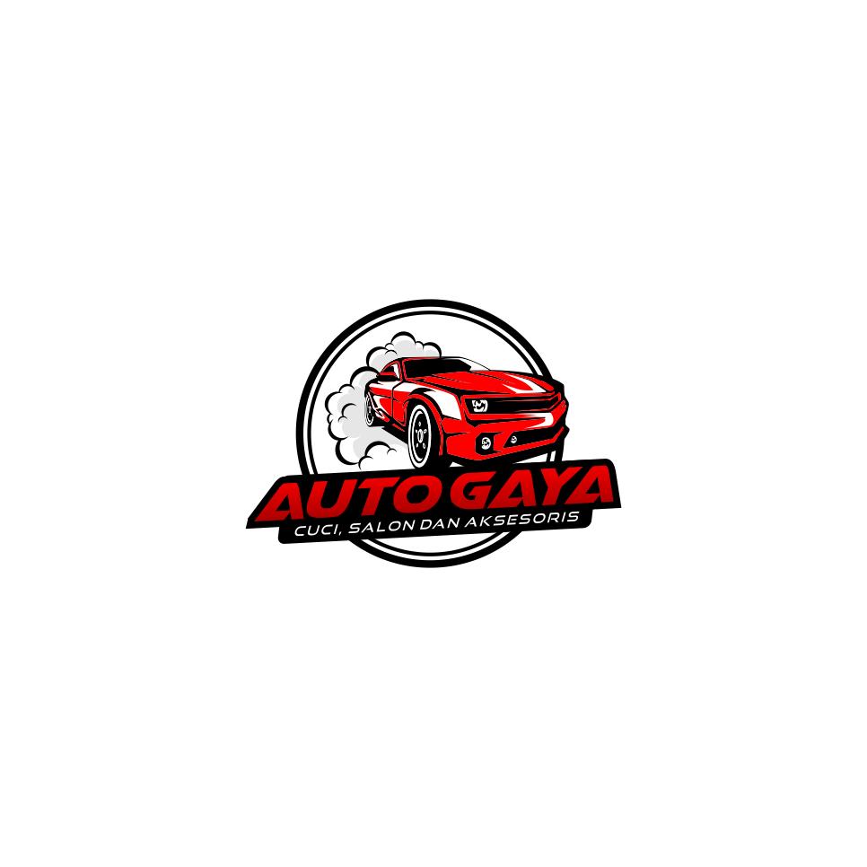 Desain Organisasi Perusahaan Jasa: Portofolio Jasa Desain Logo Car Detailer Cuci Salon Dan