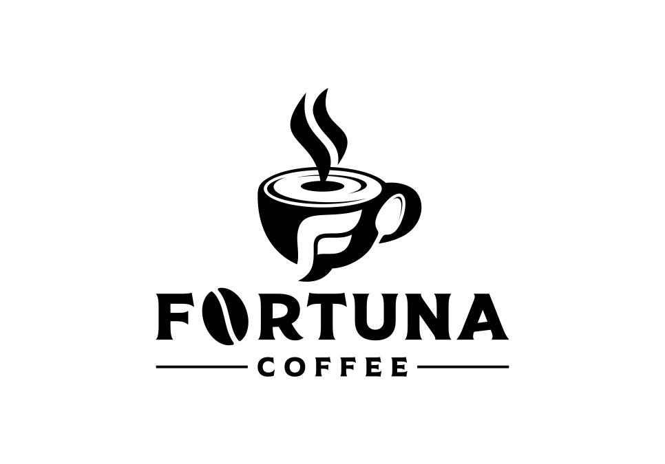 Portofolio Jasa Desain Logo kuliner dan coffee Untuk FORTUNA