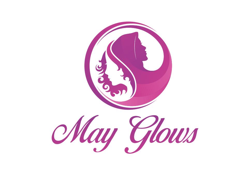 Portofolio Jasa Desain logo kecantikan wajah – aestetik Untuk May Glows