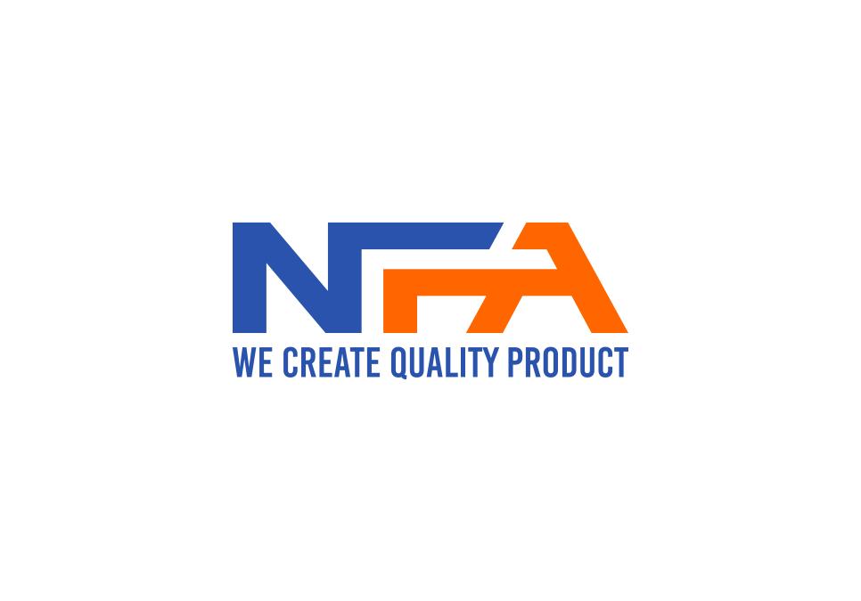 Portofolio Jasa Desain Logo  Produksi Barang  Untuk NFA