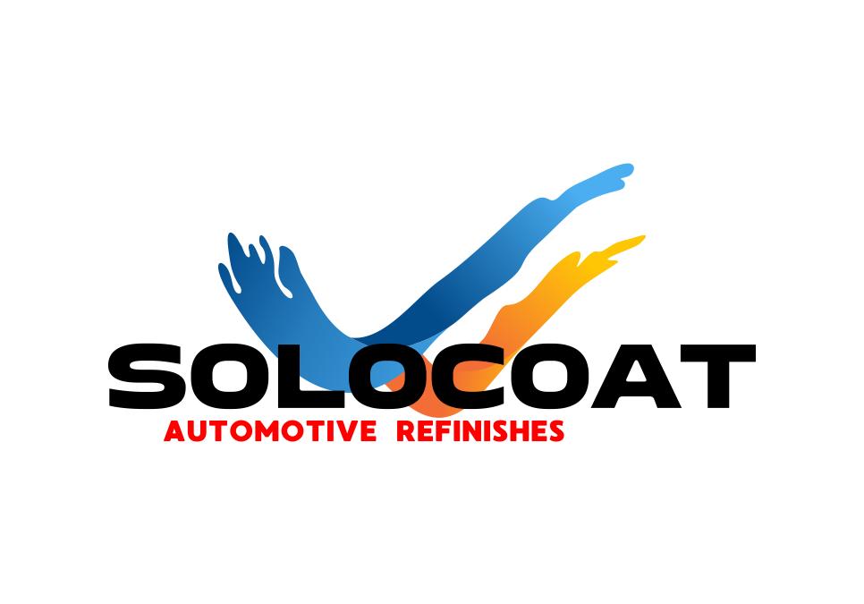 Portofolio Jasa Desain Logo Desain Logo cat mobil Untuk SOLOCOAT