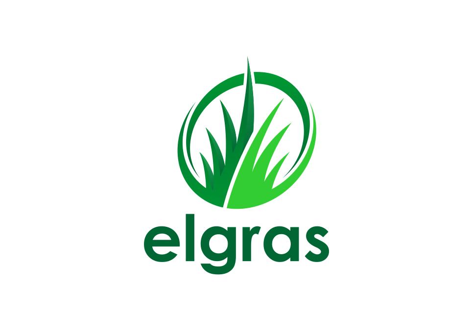 Portofolio Jasa Desain Logo rumput sintetis untuk elgras