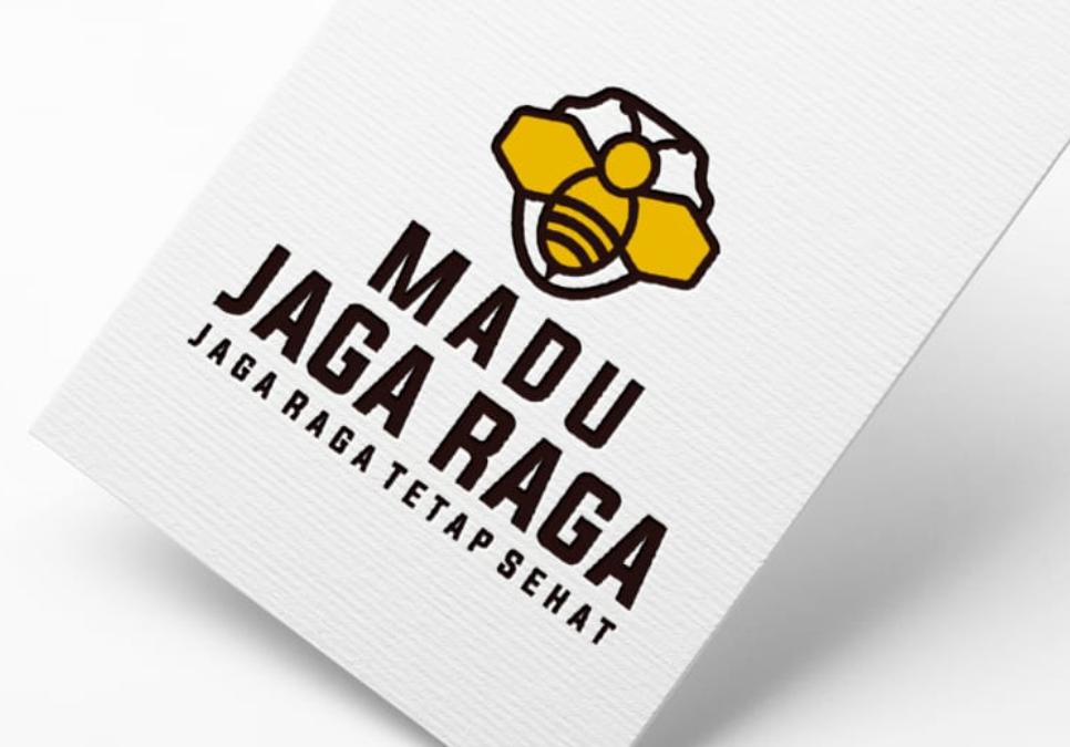 Portofolio Jasa Desain Logo Jual Madu Untuk MADU JAGA RAGA
