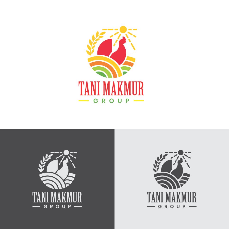 Desain Organisasi Perusahaan Jasa: Portofolio Jasa Desain Logo Peternakan Ayam Untuk Tani