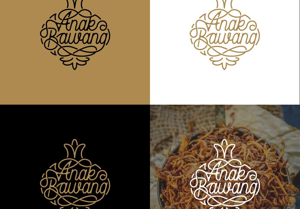 Portofolio Jasa Desain Logo Makanan Olahan Untuk Anak Bawang