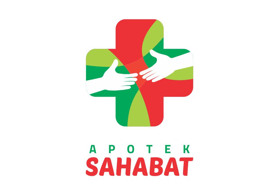 Portofolio Jasa  Portofolio Jasa Desain Logo kesehatan Untuk Apotek Sahabat