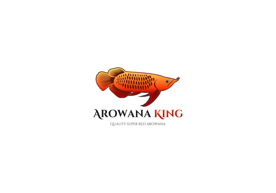 Portofolio Jasa  Desain Logo Untuk Arowana King