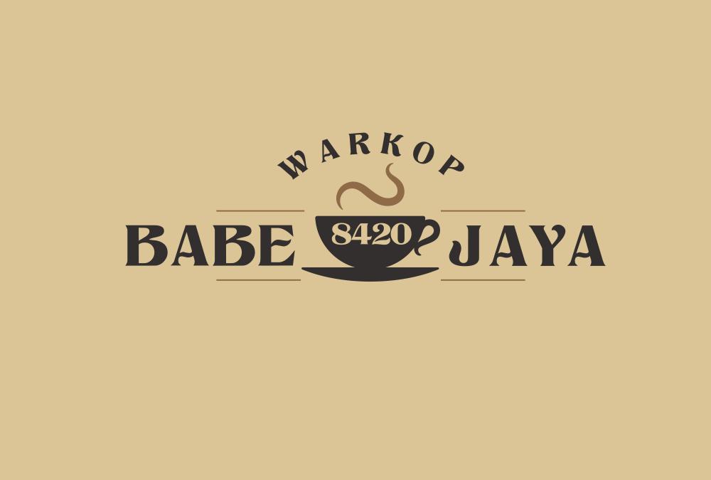 Portofolio Jasa Desain Logo minuman Untuk warkop babe jaya 8420