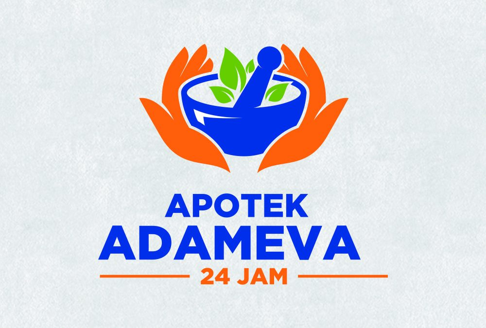 Portofolio Jasa  Desain Logo Kesehatan Untuk Apotek Adameva 24 Jam