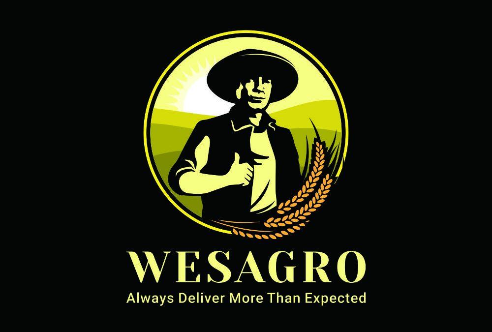 Portofolio Jasa  Desain Logo  Bisnis alat pertanian Untuk WESAGRO