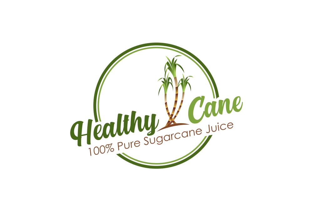 Portofolio Jasa  Desain Logo Minuman Untuk Healthy Cane