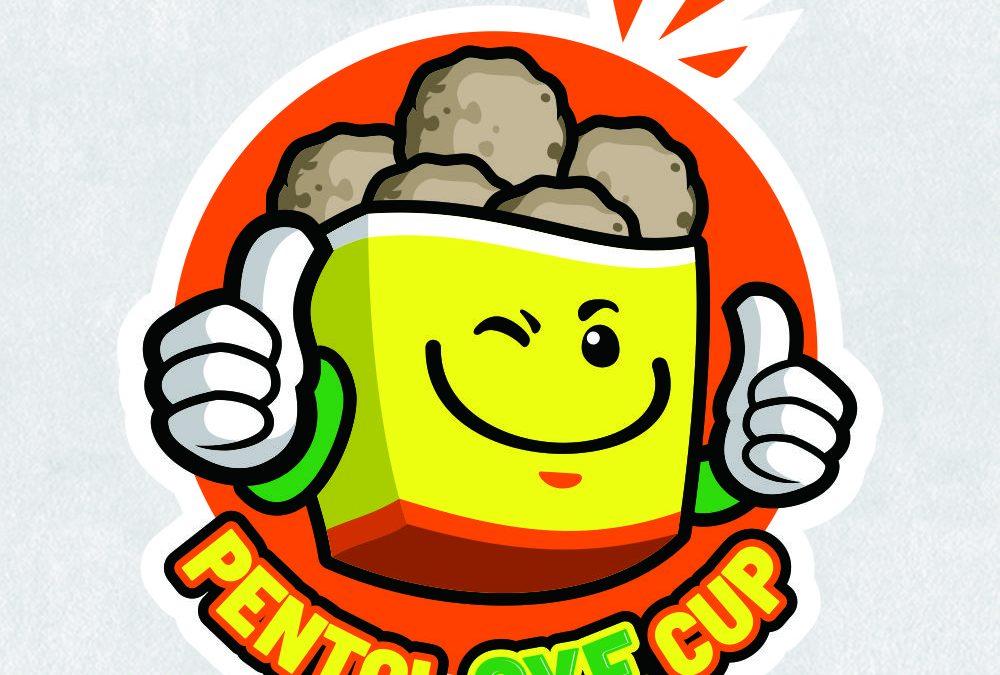 Portofolio Jasa  Desain Logo Kuliner Untuk Pentol Bakso Oye