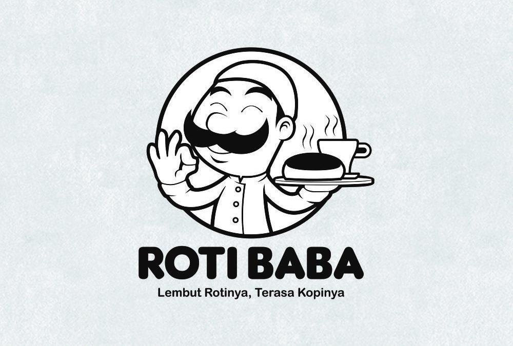 Portofolio Jasa  Desain Logo  Kuliner Untuk Roti Baba