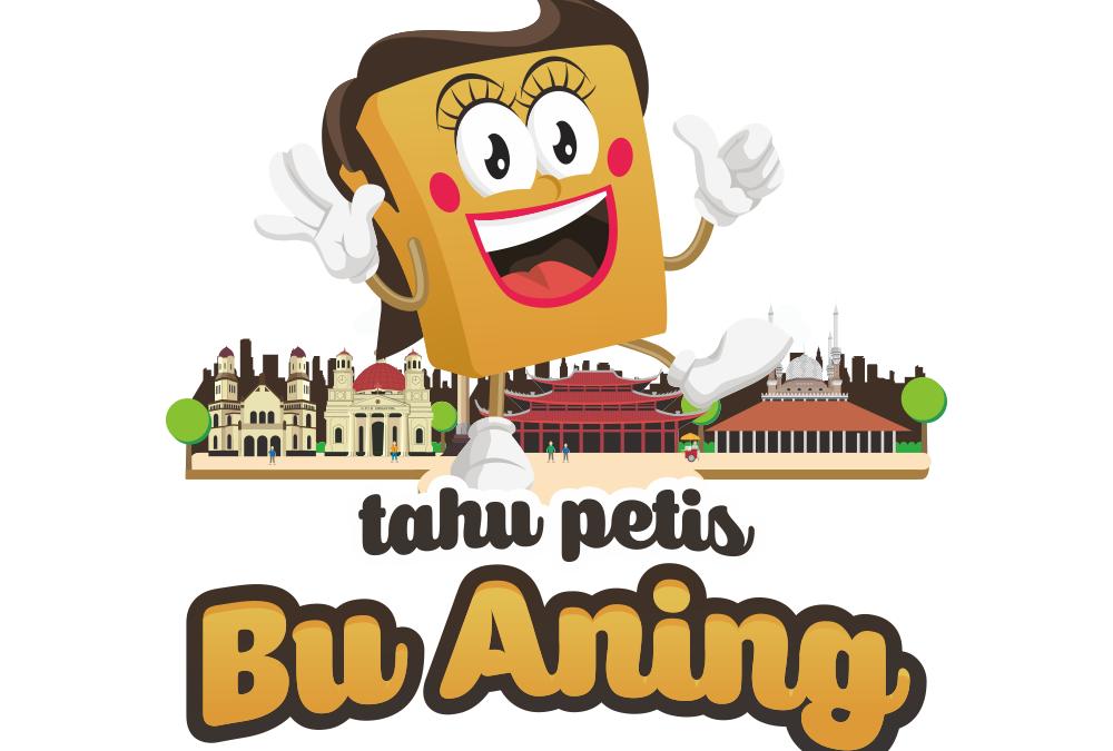 Portofolio Jasa  Desain Logo Kuliner Untuk Tahu Petis Bu Aning