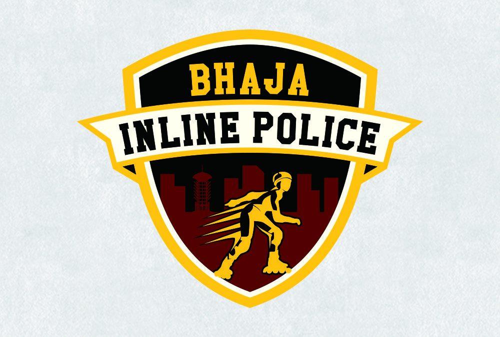 Portofolio Jasa Desain Logo LINE SKATE Untuk BHAJA INLINE POLICE