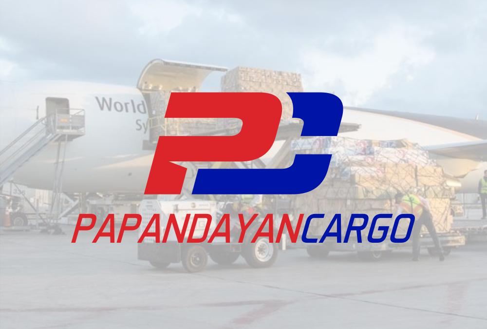 Portofolio Jasa Logo pengiriman barang  Papandayan Cargo